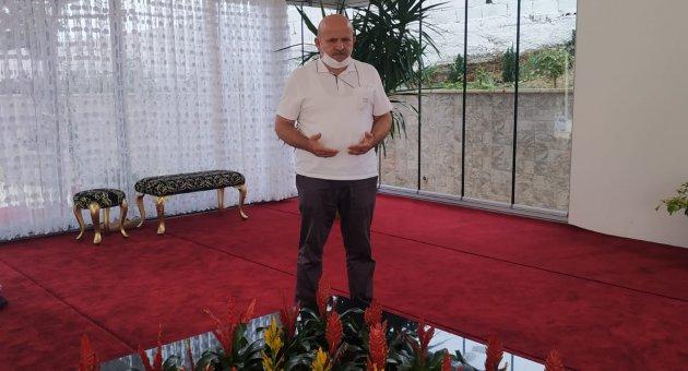 BTP Karabük Teşkilatı'ndan Prof.Dr.Haydar Baş'ın kabrine ziyaret