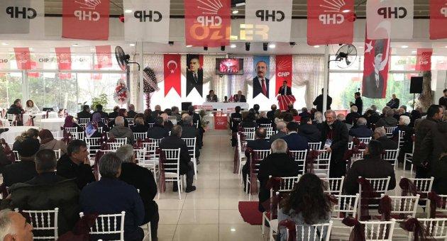 CHP İlçelerde Kongrelerini Sürdürüyor