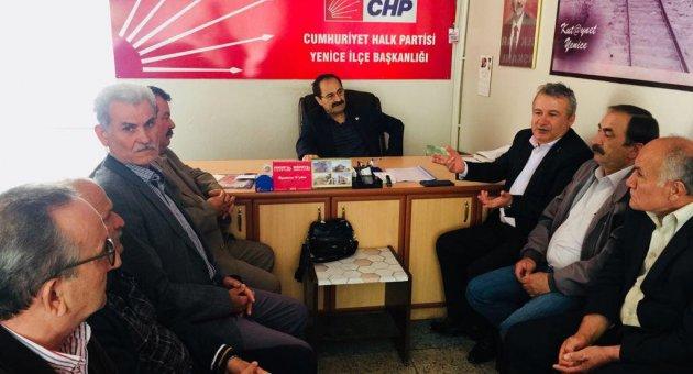 """CHP Milletvekili Aday Adayı Karaoğlu'ndan, """"HES"""" Dayanışmasına destek"""