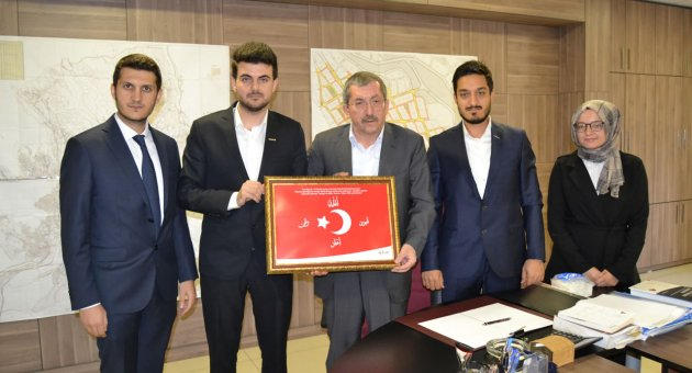Genç MÜSİAD'dan Başkan Vergili'ye Ziyaret