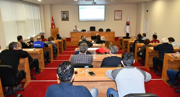 KARABÜK BELEDİYESİNDE 'EBYS' EĞİTİMİ VERİLDİ