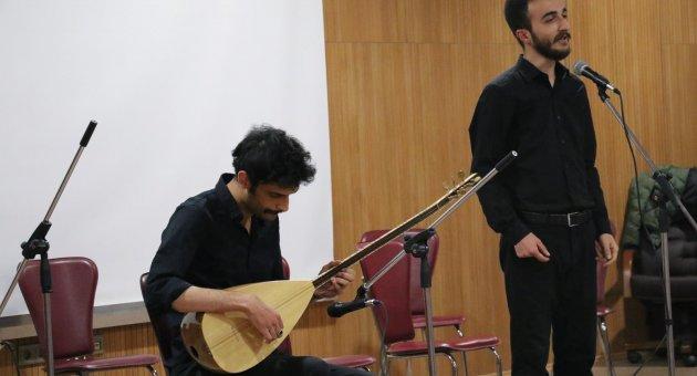 """KBÜ'lü öğrencilerden """"Anadolu Ezgileri"""" konseri"""
