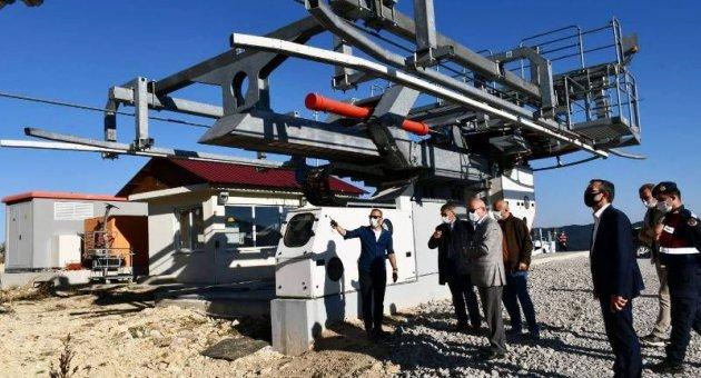 Keltepe Kayak Merkezi Yeni Sezona Hazırlanıyor