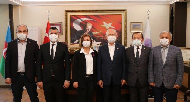 Kemal Kılıçdaroğlu, Safranbolu Belediyesini Ziyaret Etti