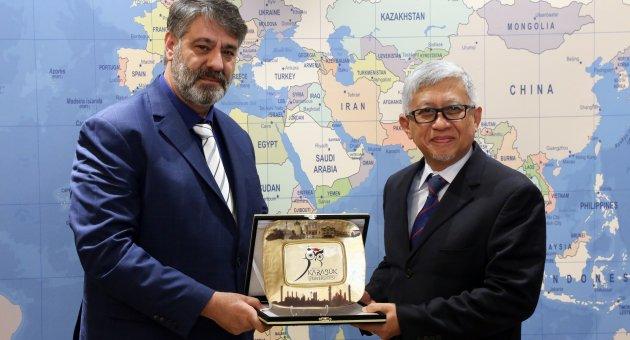 Malezya ve Hindistan üniversitelerinden ziyaret