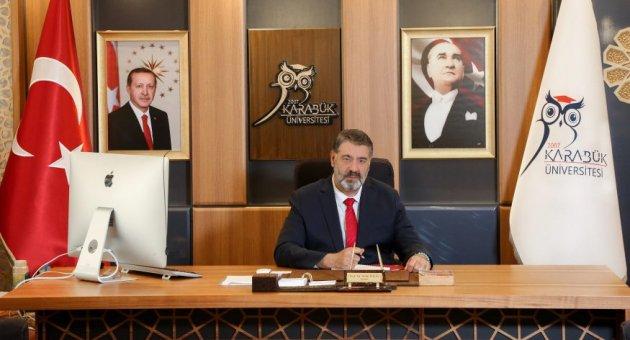 """Rektör Polat'ın """"23 Nisan Ulusal Egemenlik ve Çocuk Bayramı"""" mesajı"""