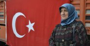Afrin'e yardım tırı yola çıktı