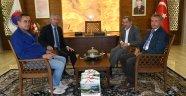 Araç İhsangazi Belediye Başkanı Sağlık'tan Başkan Vergili´ye Ziyaret