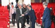 Başkan Vergili Köy Muhtarları Derneği Genel Kuruluna Katıldı
