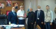 BTP heyeti Eskipazar Belediye Başkanı Dönmez'i ziyaret etti