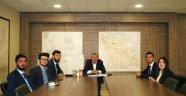 KBÜ Kariyer Kulübünden Başkan Vergili'ye Ziyaret