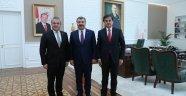 Milletvekilleri Güneş ve Ünal'dan Sağlık Bakanı Koca'ya ziyaret