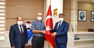 Muharip (Kıbrıs) Gazi Ömer Erdoğan'a Madalya ve Berat'ı Tevcih edildi