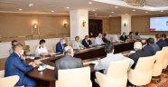 Pandemi Denetim Ekipleri Toplantısı Vali Gürel başkanlığında yapıldı.