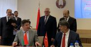 Rektör Polat, Belarus'ta iş birliği protokolü imzaladı