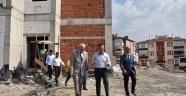 Vali  Çeber,  Beşbinevler' deki Yatırım Alanlarını Gezdi