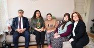 Vali Gürel, vatandaşın evine misafir oldu