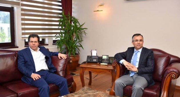 Tokat Milletvekili Çakır'dan, Vali Çeber'e ziyaret
