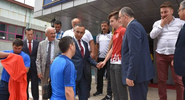 VALİ ÇEBER'DEN POMEM'E ZİYARET