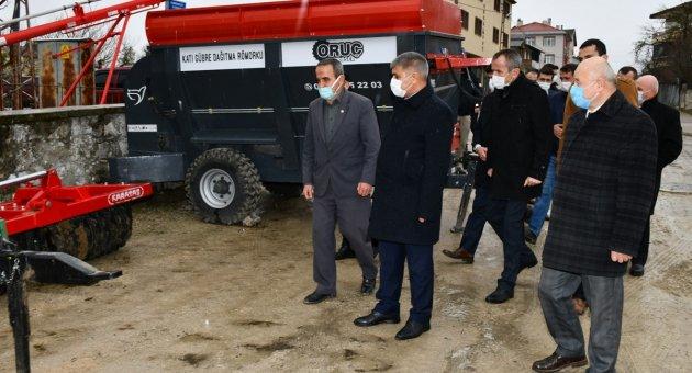 Vali Gürel, Eflani'de Ziyaretlerde Bulundu