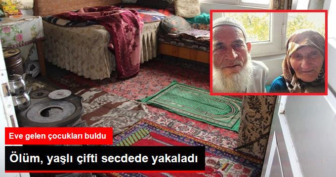 Namaz Kılan Yaşlı Çift, Sobadan Sızan Gazdan Zehirlenerek Öldü